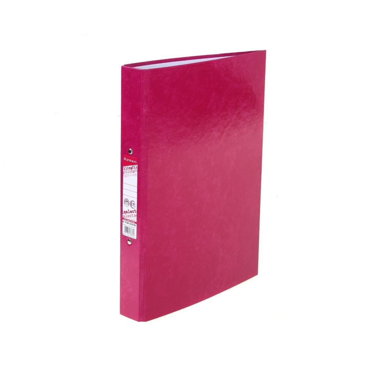 Ryman Select Ringbinder A4 Raspberry Pink