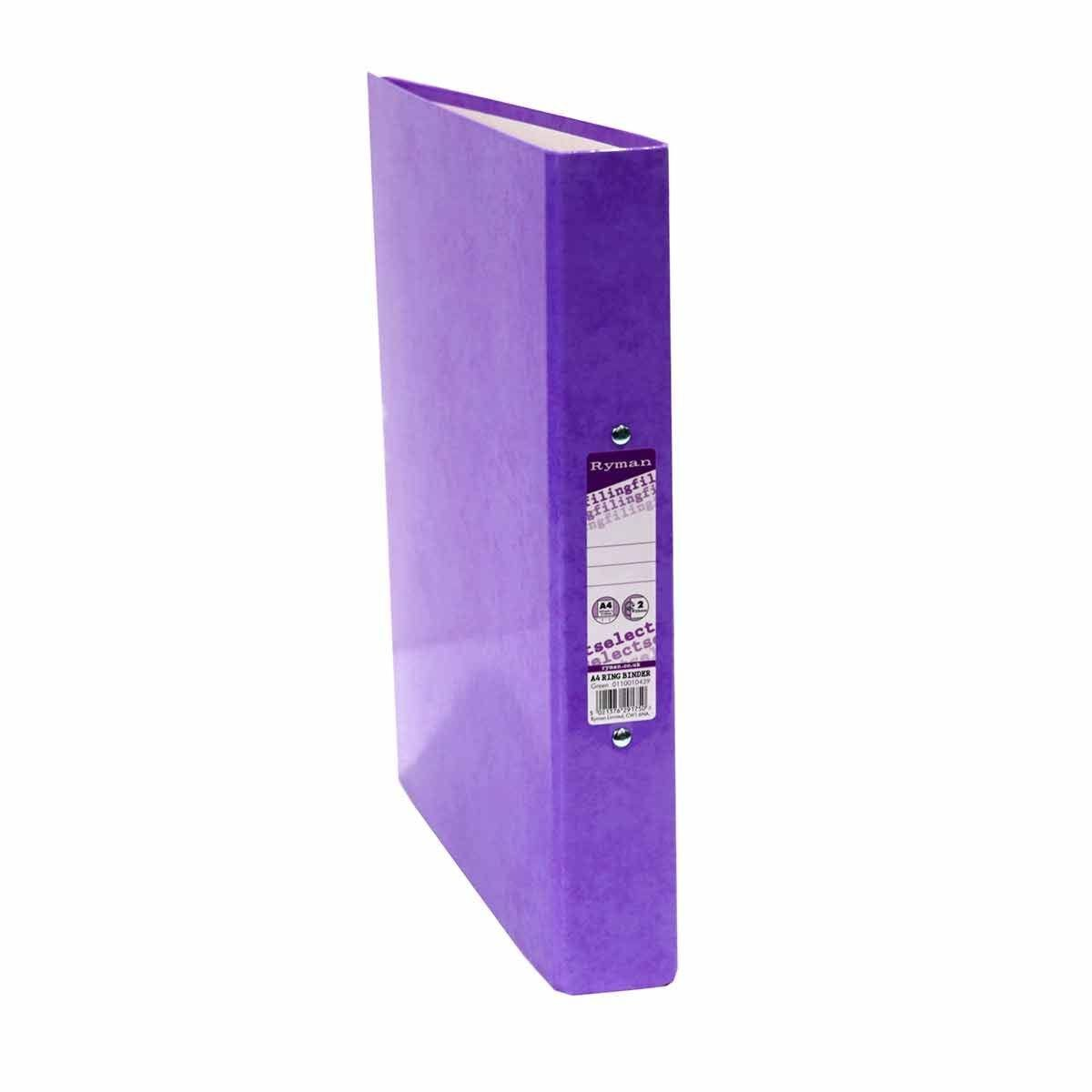 Ryman Select A4 Ringbinder Purple