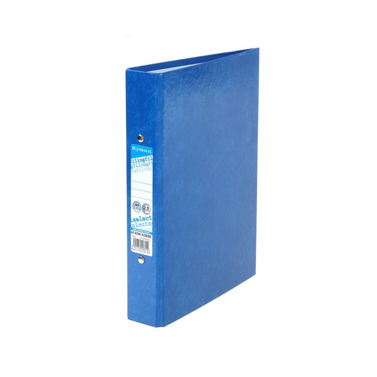 Ryman Select Ring Binder A5 Blue