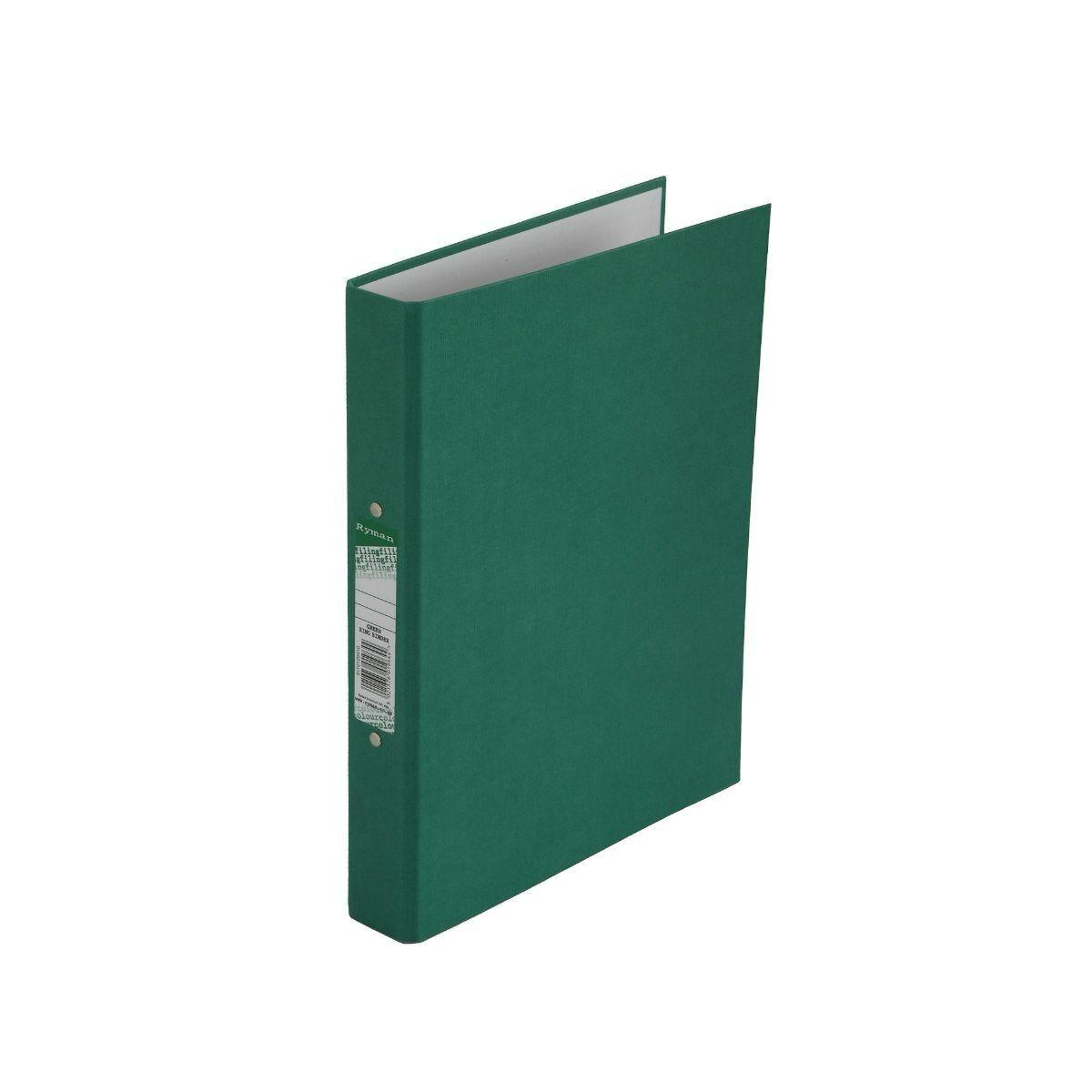 Ryman Colour Ring Binder A4 Green