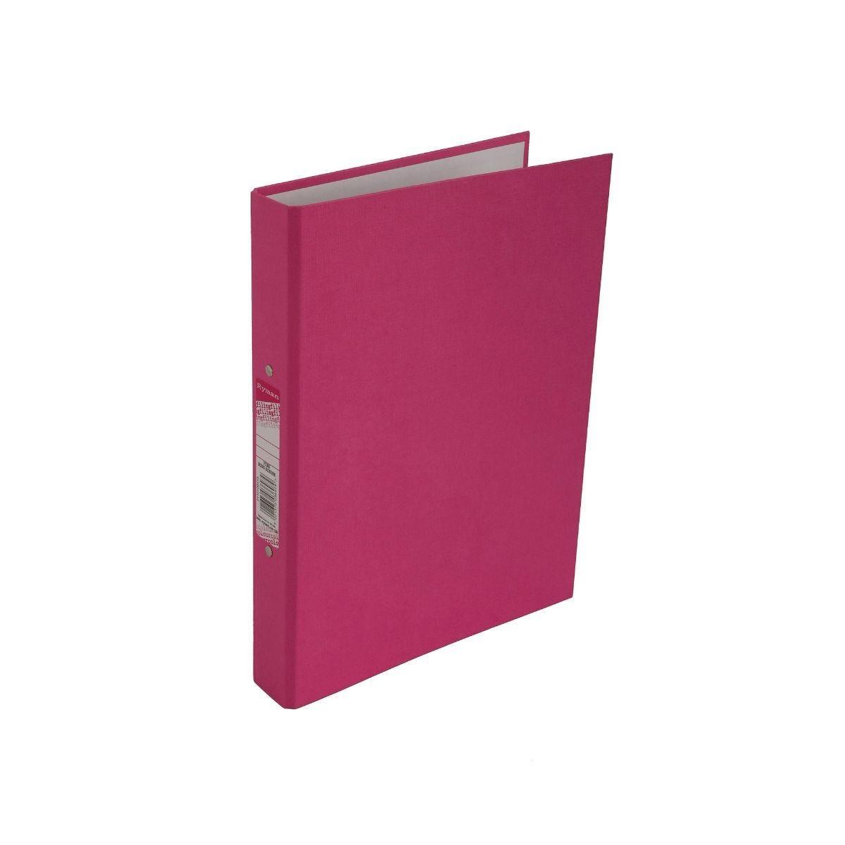 Ryman Colour Ring Binder A4 Pink