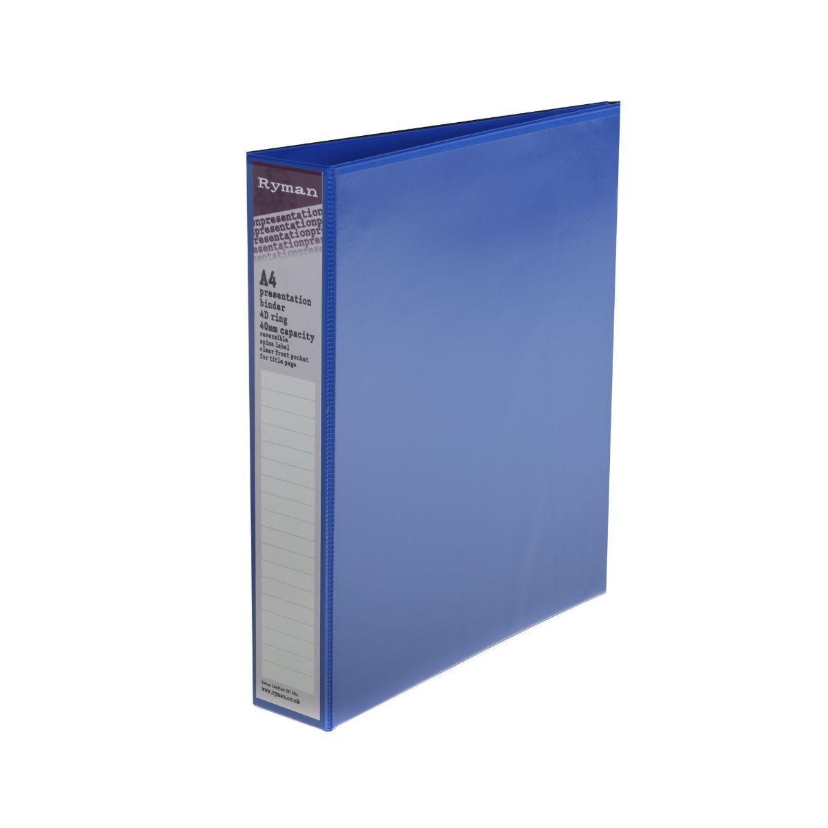 Ryman Presentation Binder A4 4D 40mm