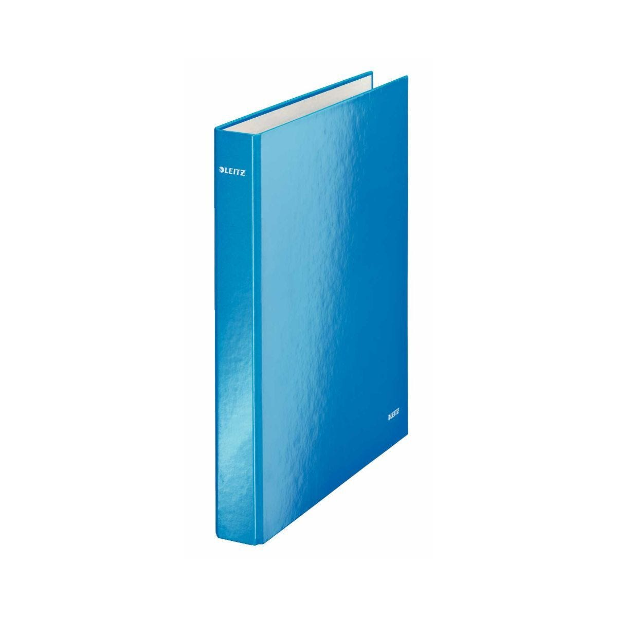 Leitz WOW Laminated A4 Ring Binder Blue