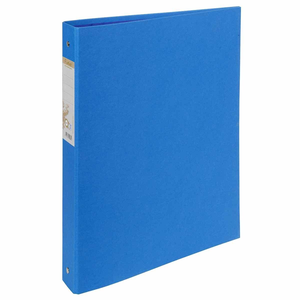 Exacompta Forever Ring Binder 4 Ring 30mm A4 Pack of 10 Light Blue