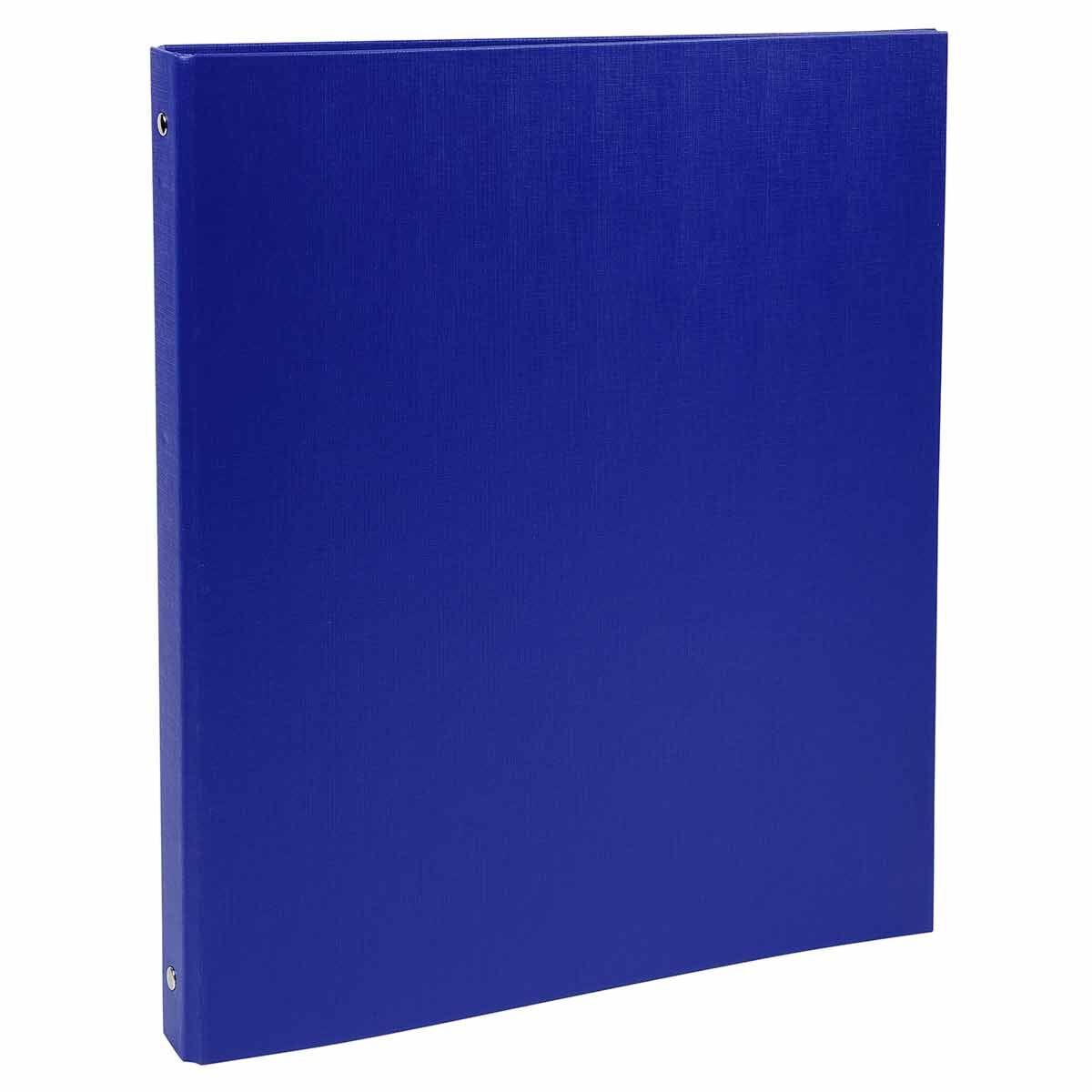 Exacompta PP Ring Binder A4 4 Rings 15mm Pack of 20 Blue
