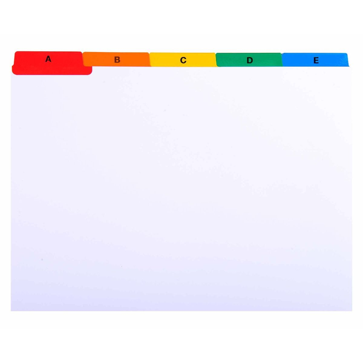 Exaclair Record Cards A-Z A5 160gsm Pack of 10
