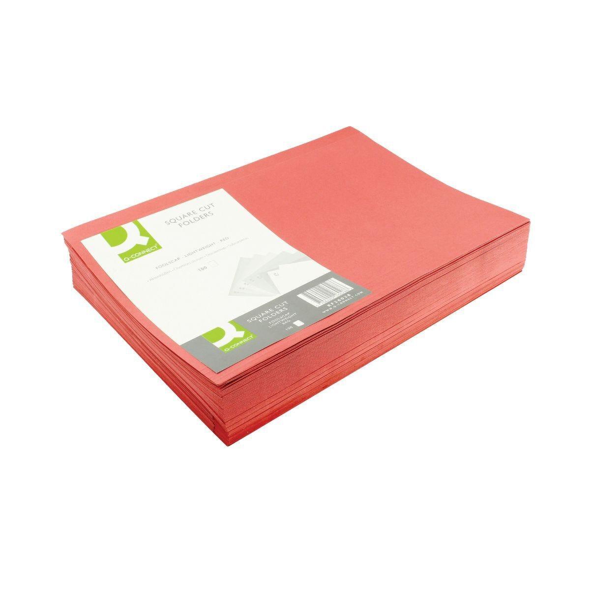 Square Cut Folder 180gsm Foolscap