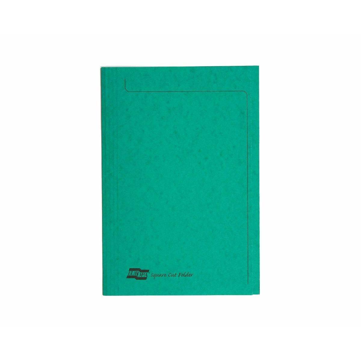 Exacompta Europa Folder A4 Pack of 50 265gsm Green