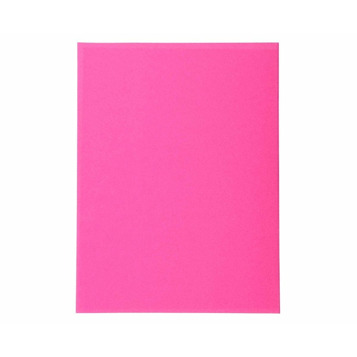 Exacompta Forever Folders Square Cut A4 5 Packs of 100 Fuchsia