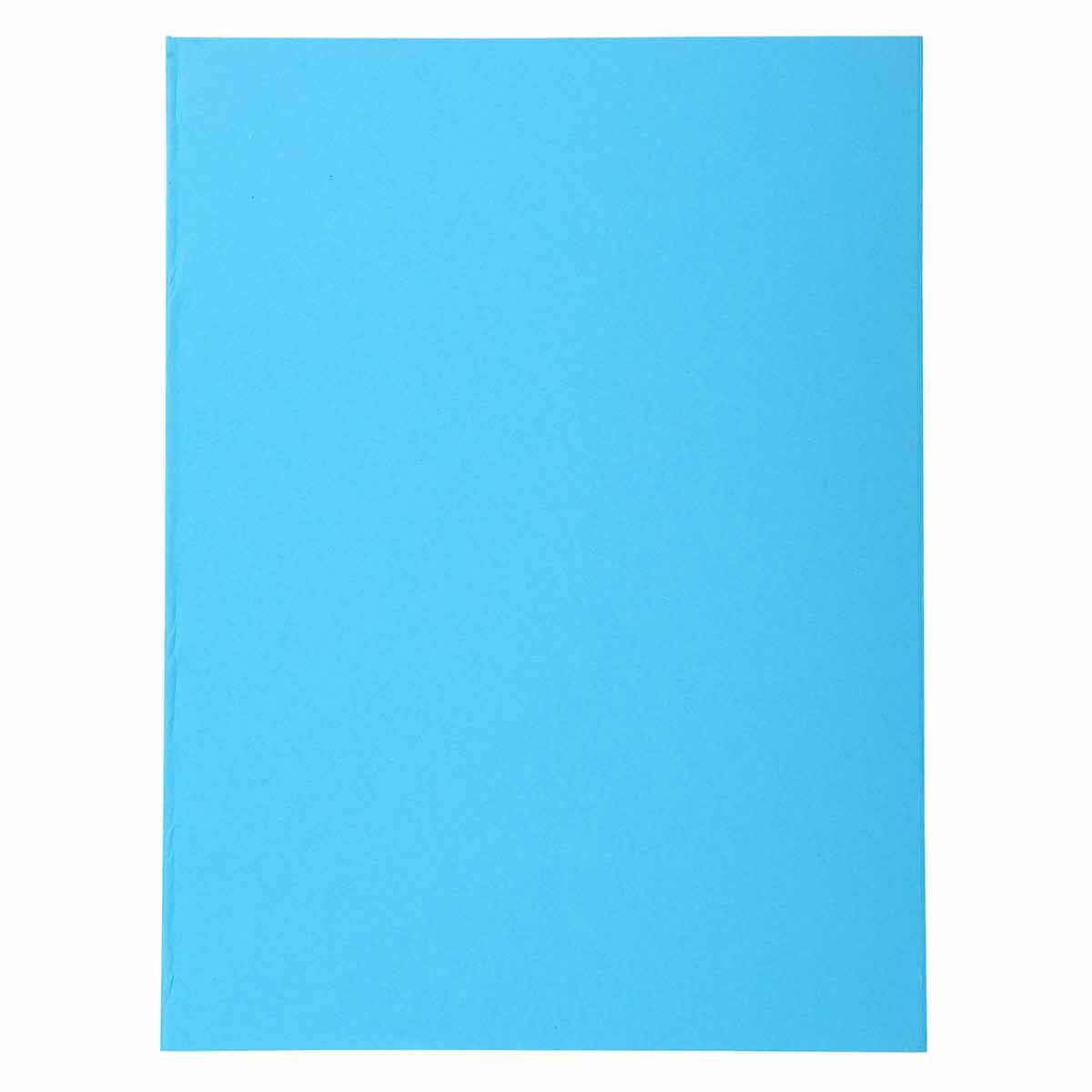 Exacompta Forever Square Cut Folders A4 220gsm Pack of 500 Blue