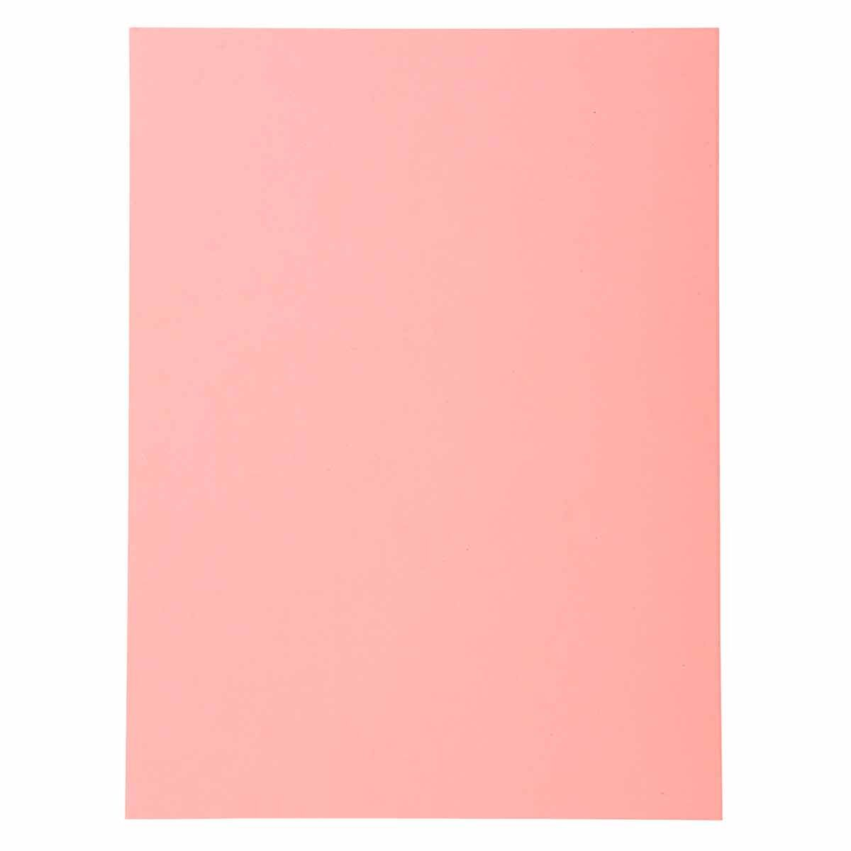 Exacompta Forever Square Cut Folders A4 170gsm 5 Packs of 100 Pink
