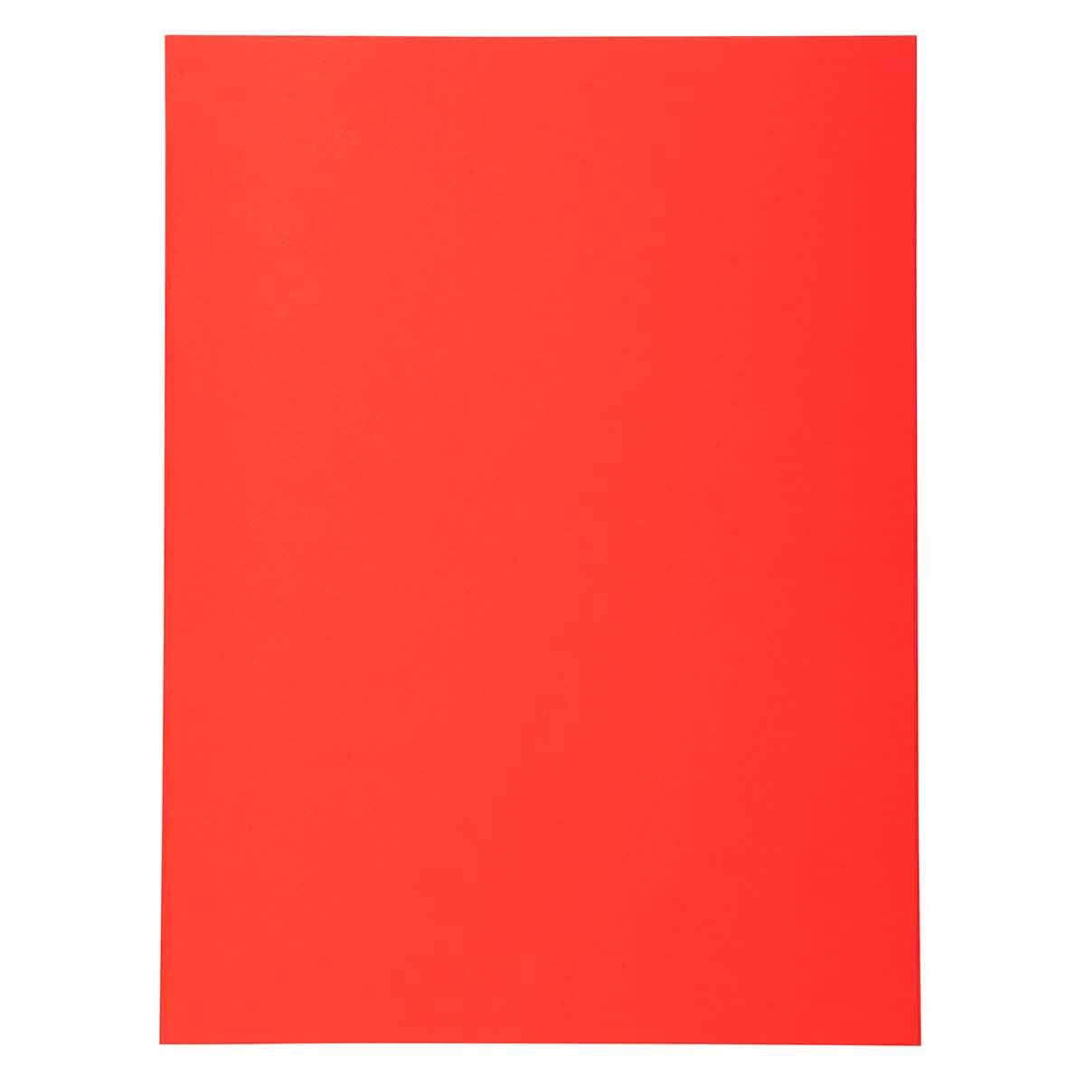 Exacompta Forever Square Cut Folders A4 170gsm 5 Packs of 100 Red
