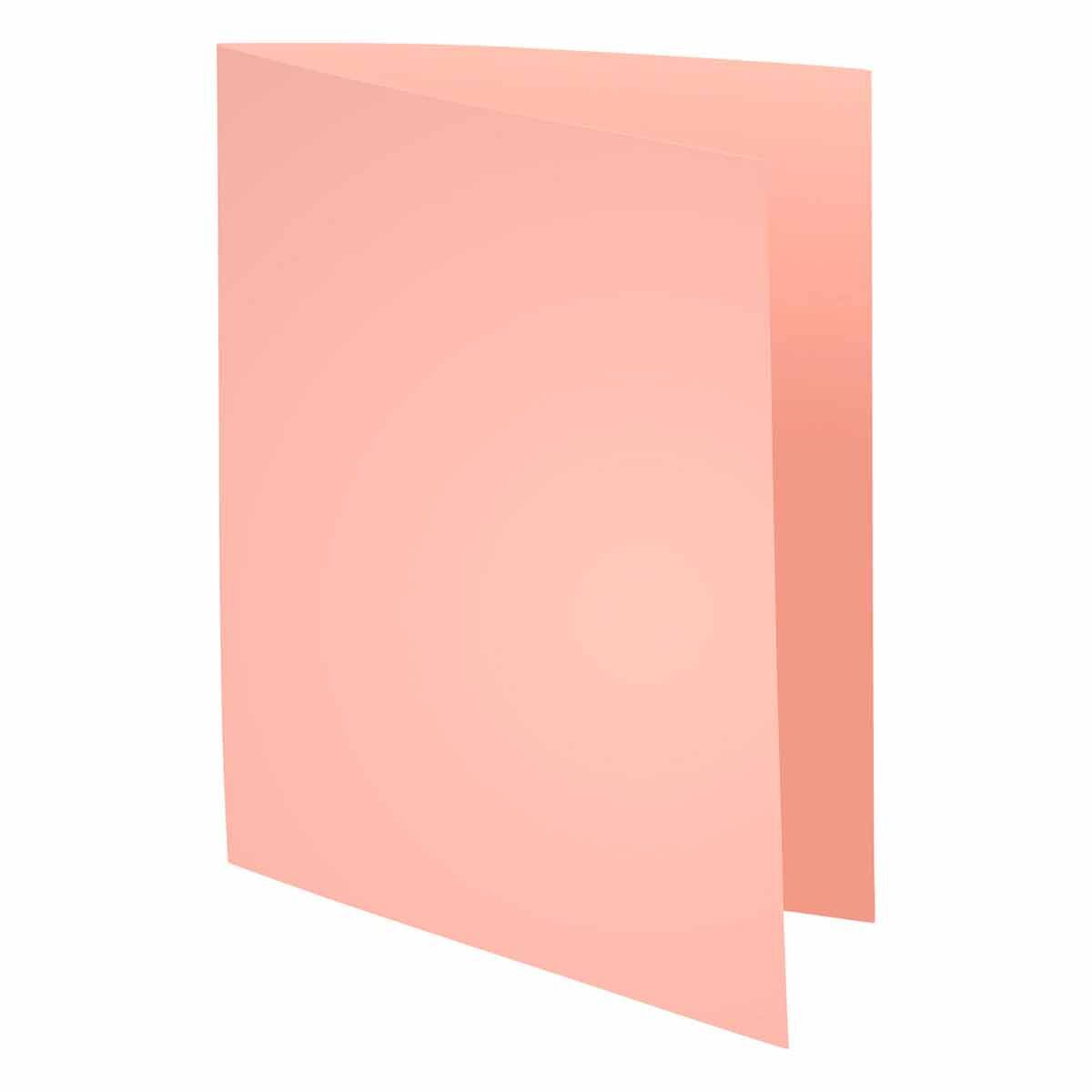 Exacompta Forever Square Cut Folders A4 220gsm Pack of 500 Pink