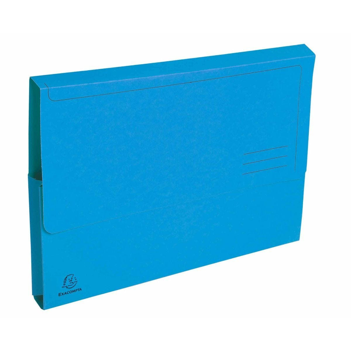 Exacompta Forever Document Wallets A4 2 Packs of 50 290gsm