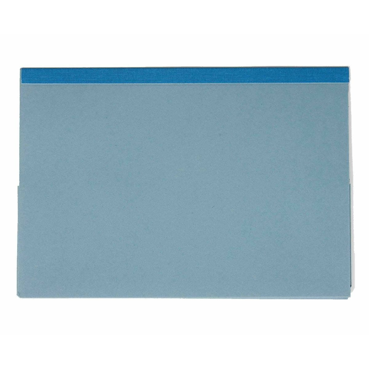 Exacompta Guildhall Reinforced Double Pocket Wallets Foolscap Pack of 25 315gsm Blue