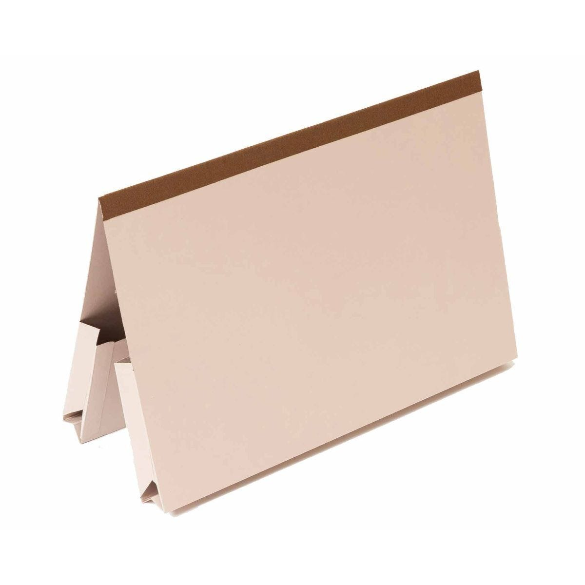 Exacompta Guildhall Reinforced Double Pocket Wallets Foolscap Pack of 25 315gsm Buff