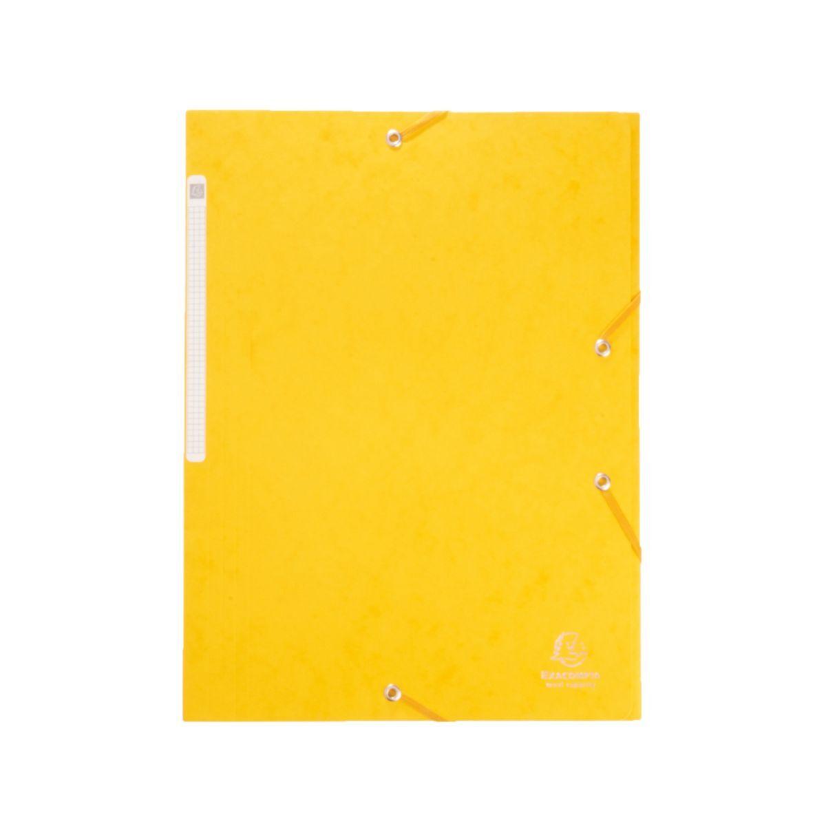 Exacompta Portfolio A4 Yellow