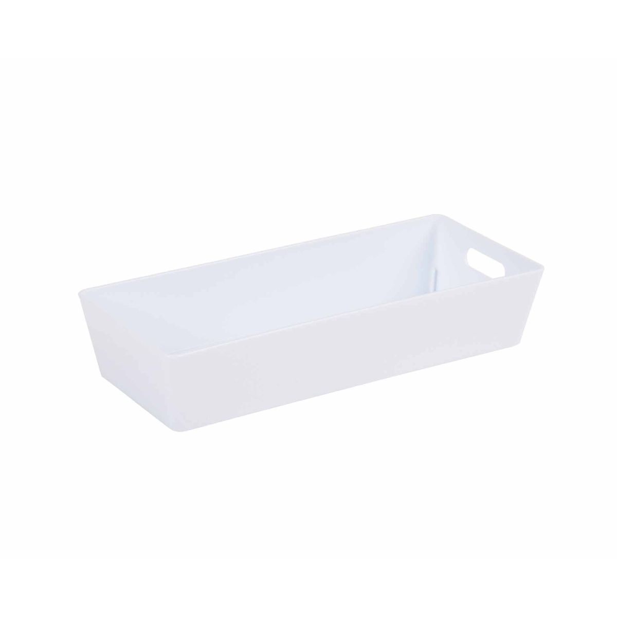 Wham Studio Rectangular Basket 2.01 White