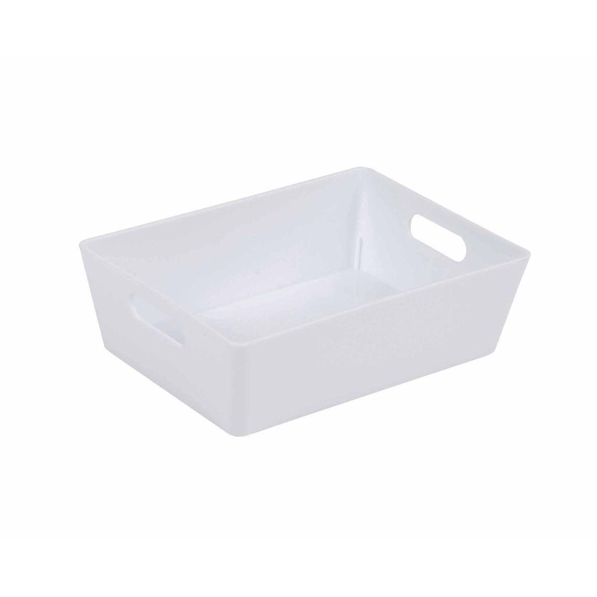 Wham Studio Rectangular Basket 3.01 White