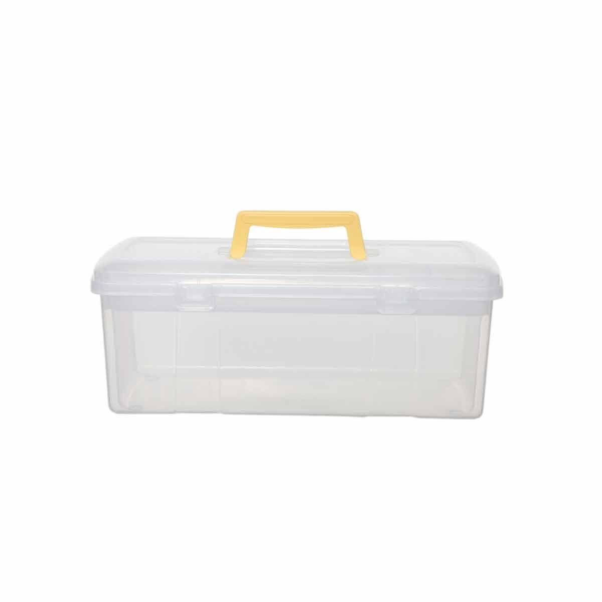 Whitefurze Utility Box with Tray 5 Litre