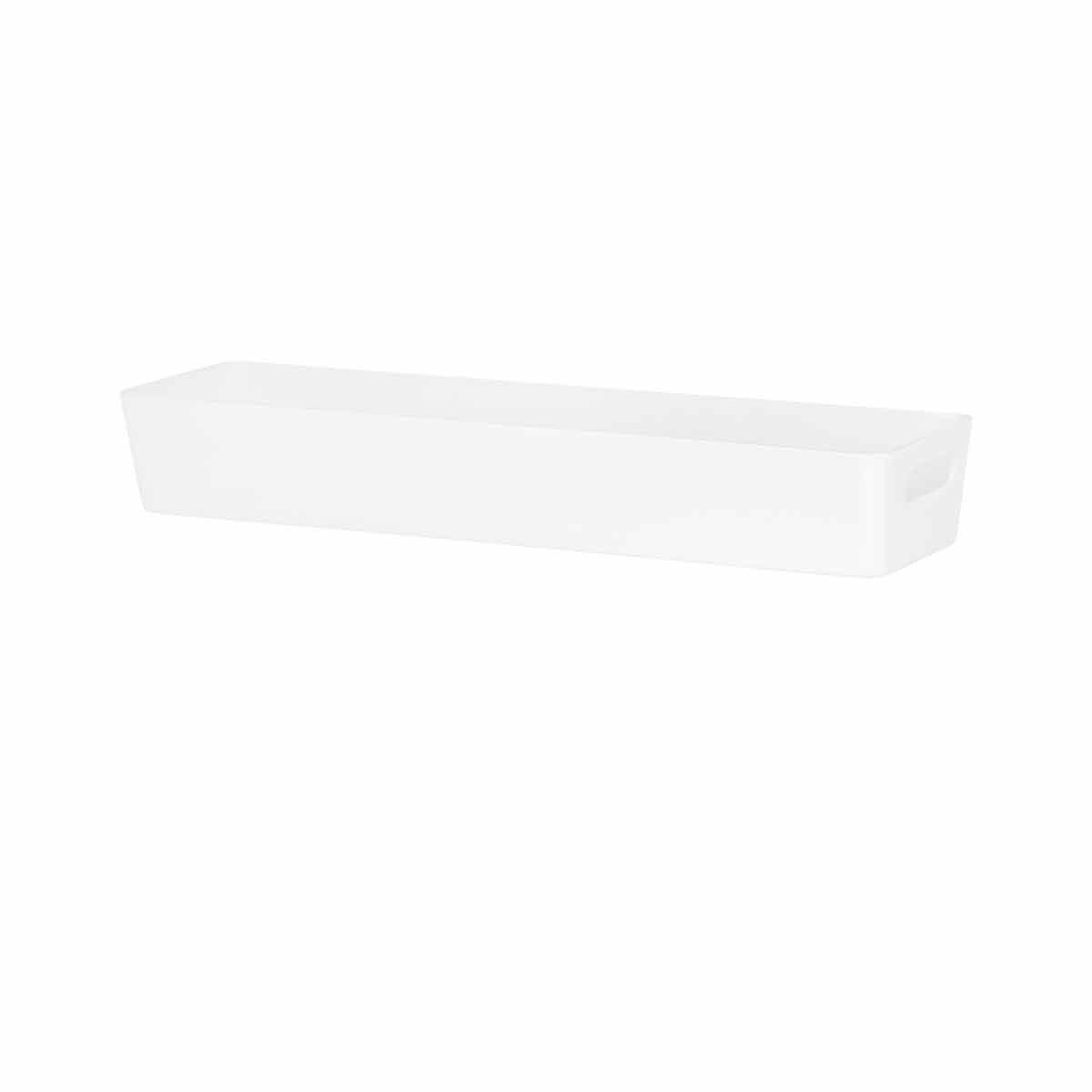 Wham Studio Rectangular Basket 12.01 White