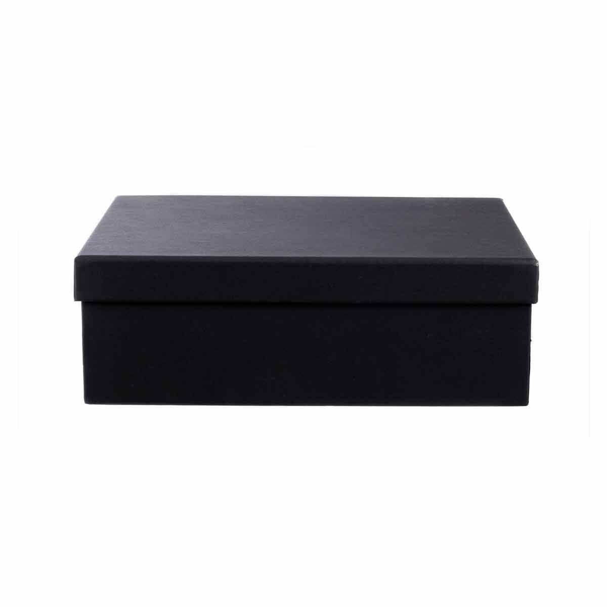 Ryman Storage Box A4 Black