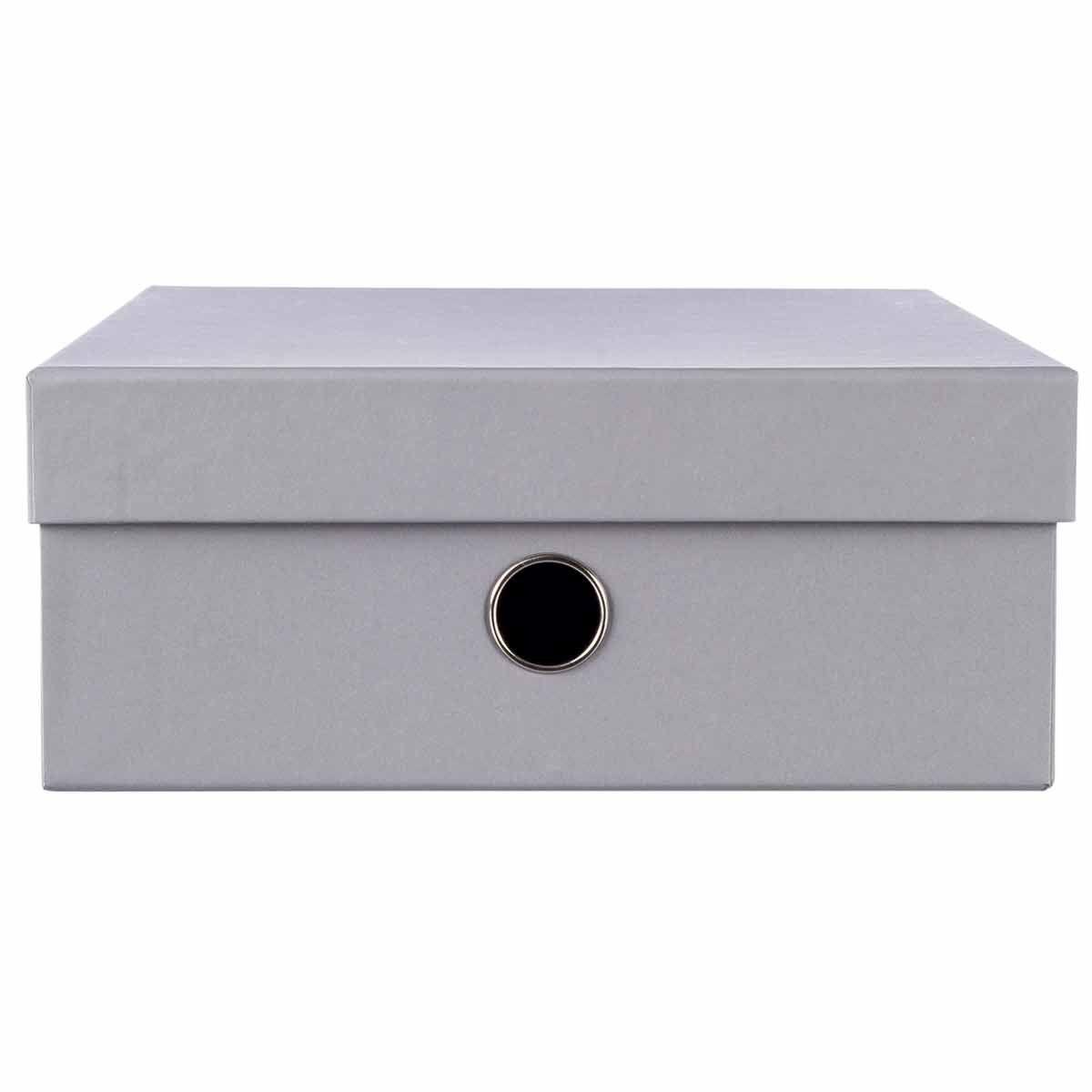 Ryman Pastel Storage Box A4 Dove Grey