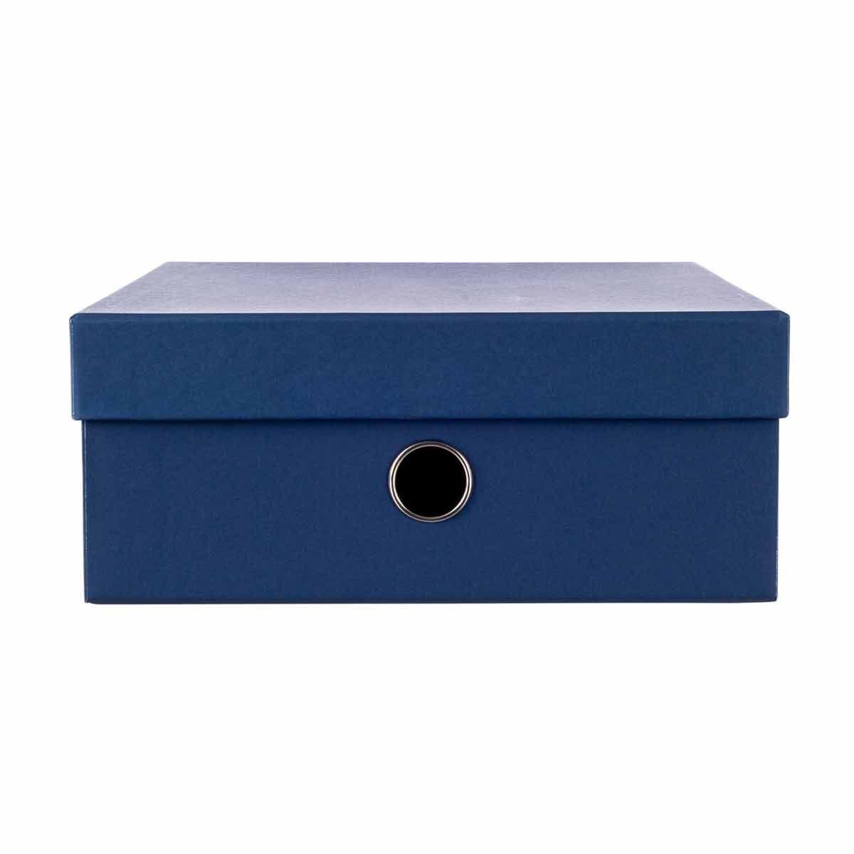 Ryman Pastel Storage Box A4 Navy