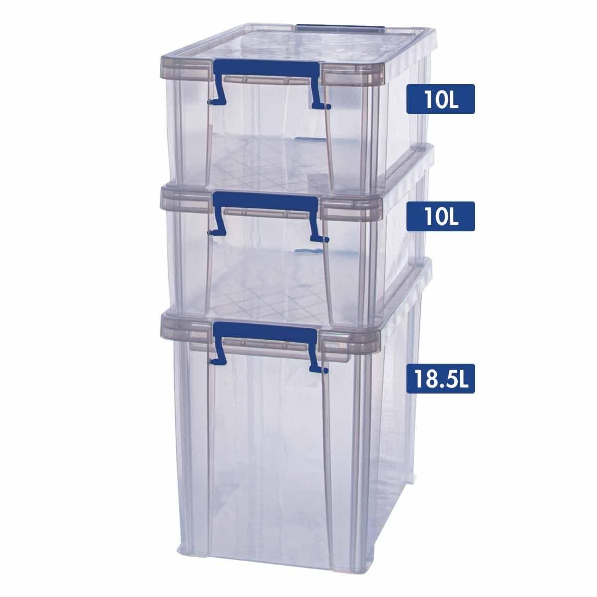 ProStore Storage Box Bonus Pack 4 38.5L Capacity