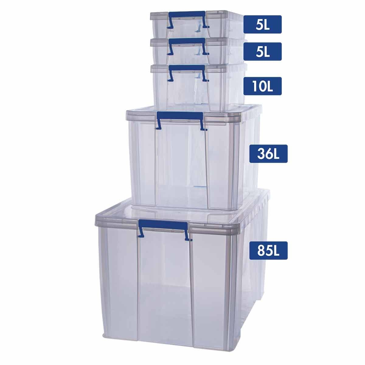 ProStore Storage Box Bonus Pack 8 143L Capacity