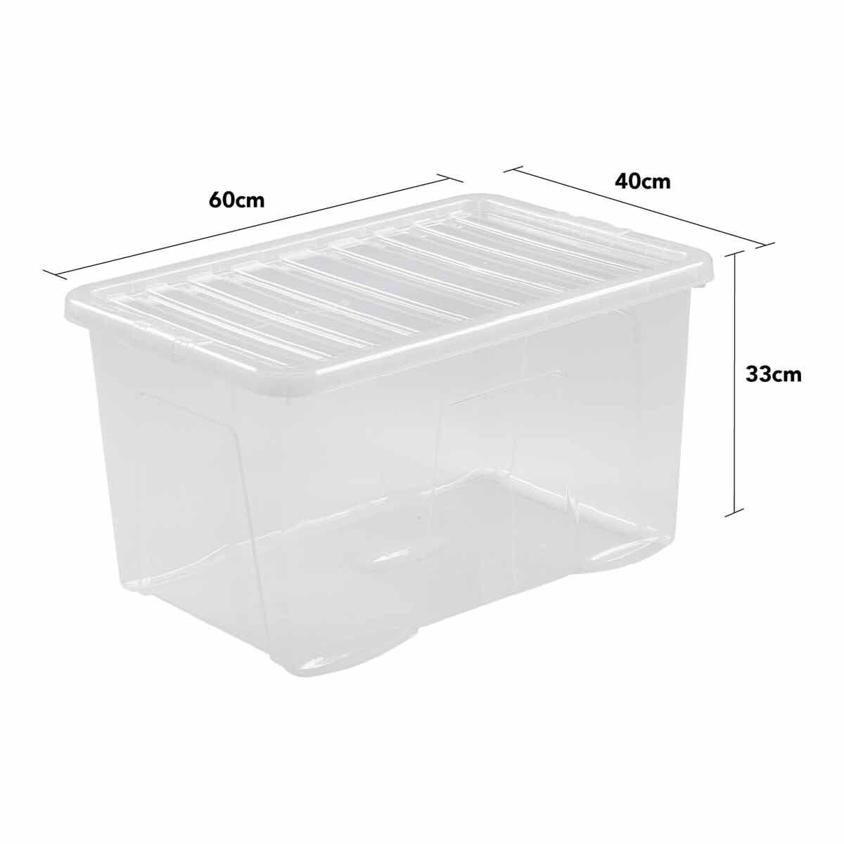 Wham Crystal Boxes 60 Litres Pack of 3
