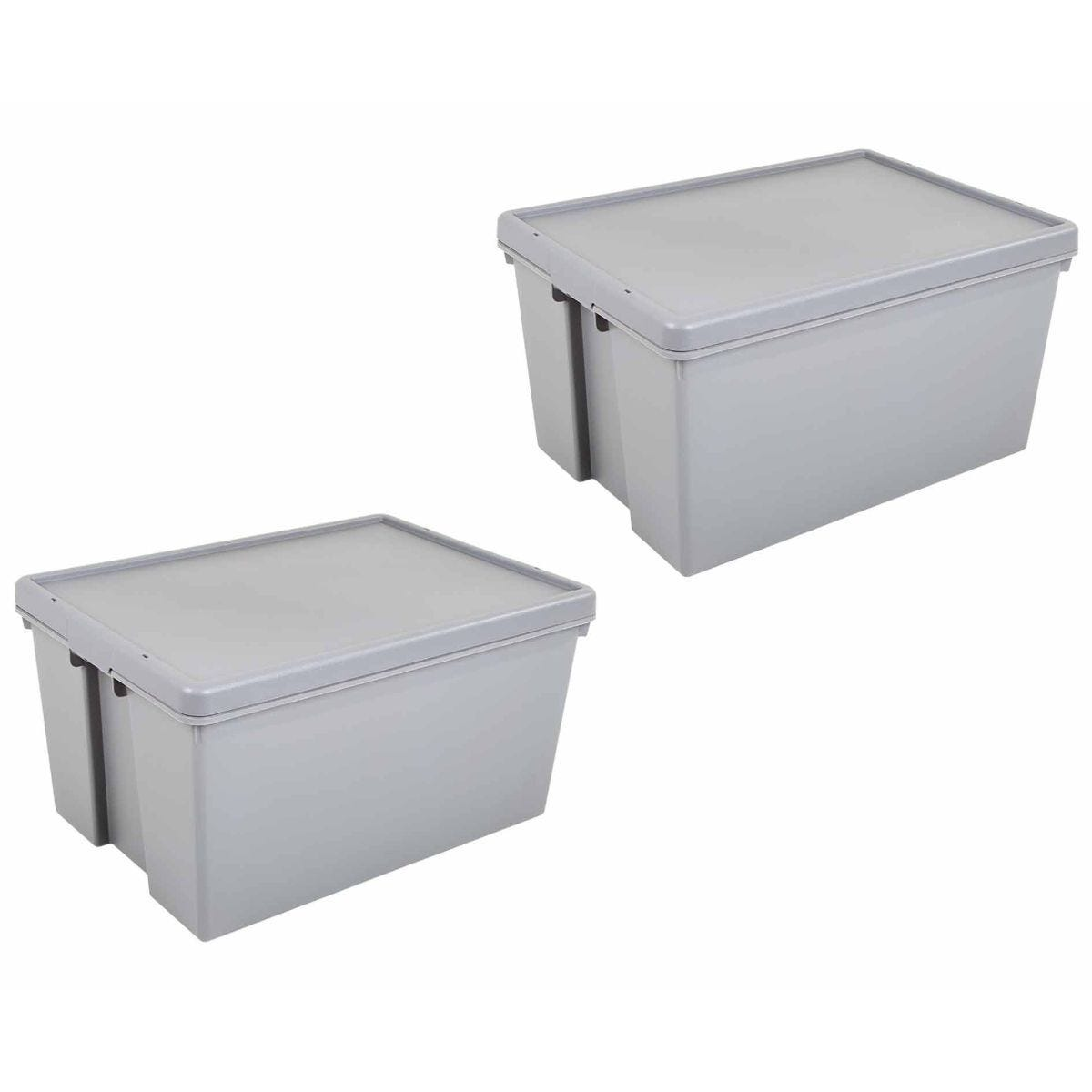 Wham Bam Recycled Boxes Super Strong 96 Litre Pack of 2