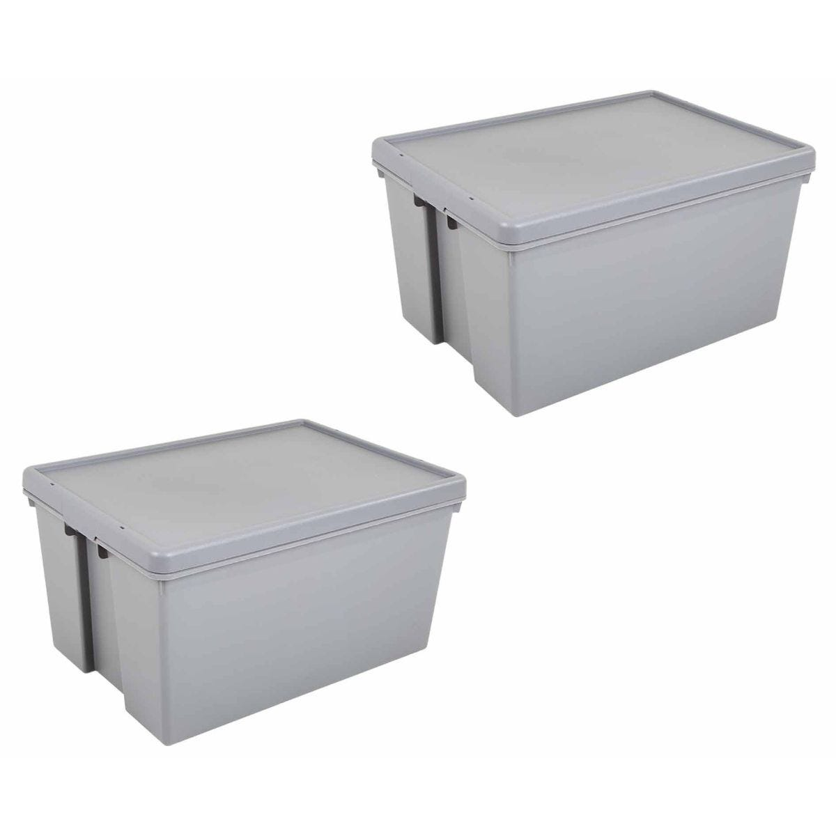 Wham Bam Recycled Boxes Super Strong 150 Litre Pack of 2