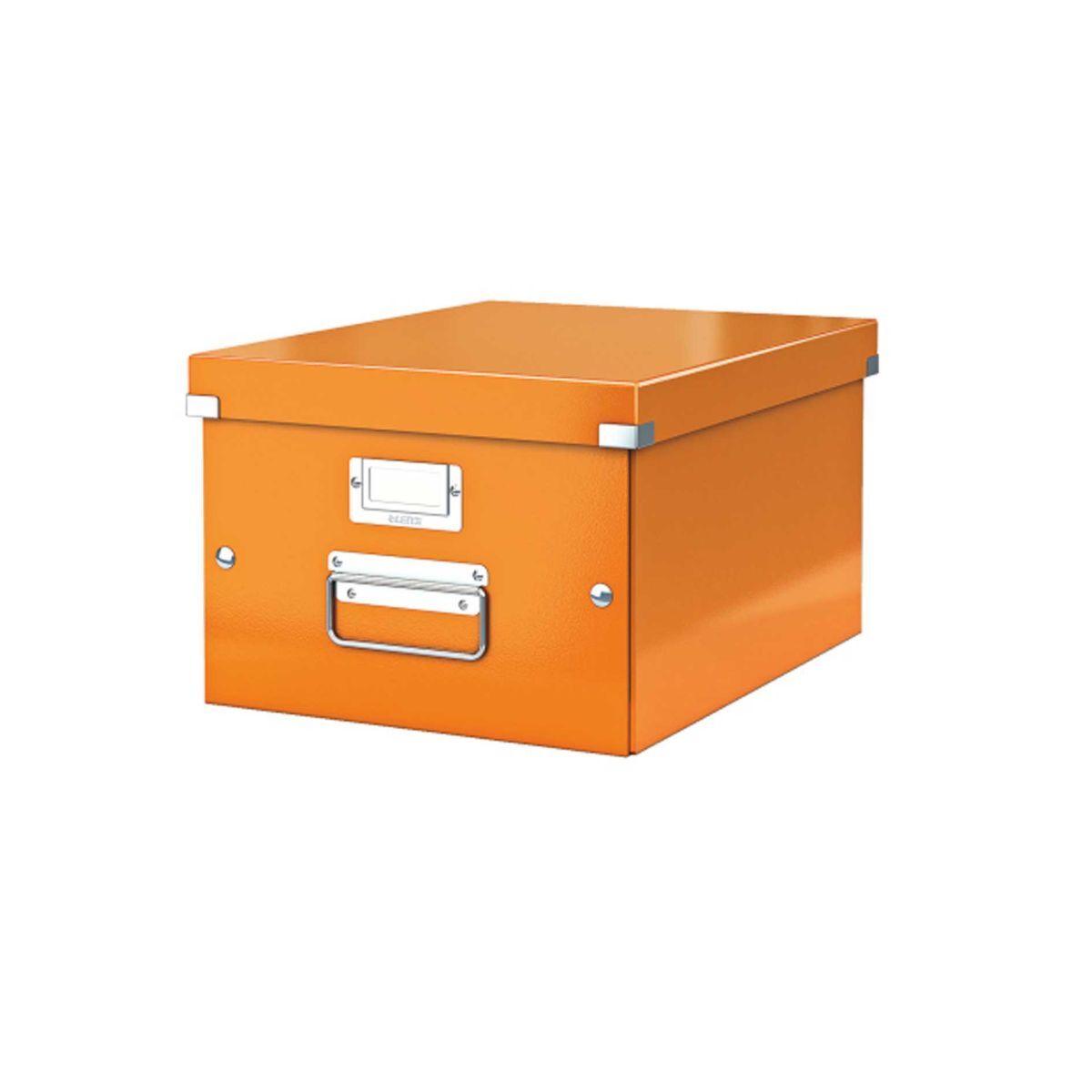Leitz WOW Click & Store Medium Box Orange