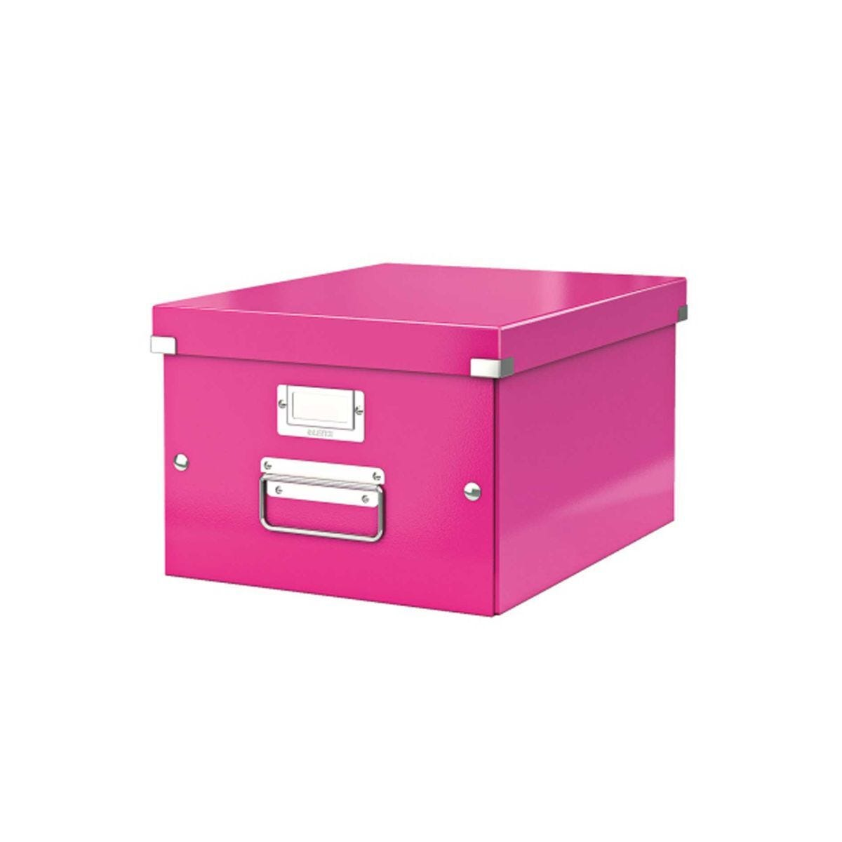 Leitz WOW Click & Store Medium Box Pink