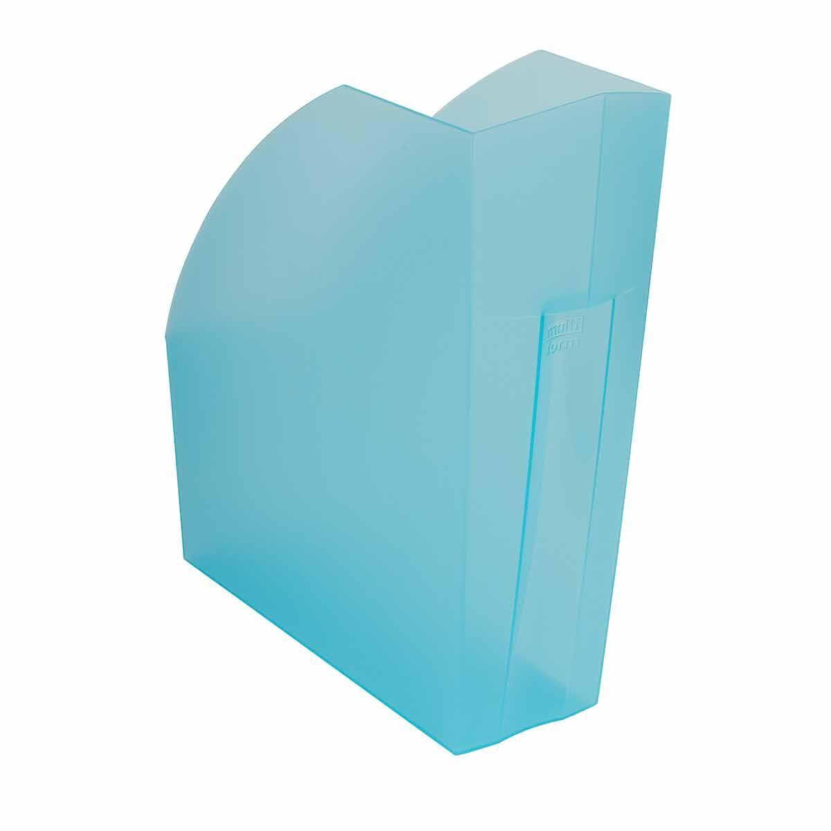 Exacompta Linicolor Magazine File Pack of 3 Turquoise