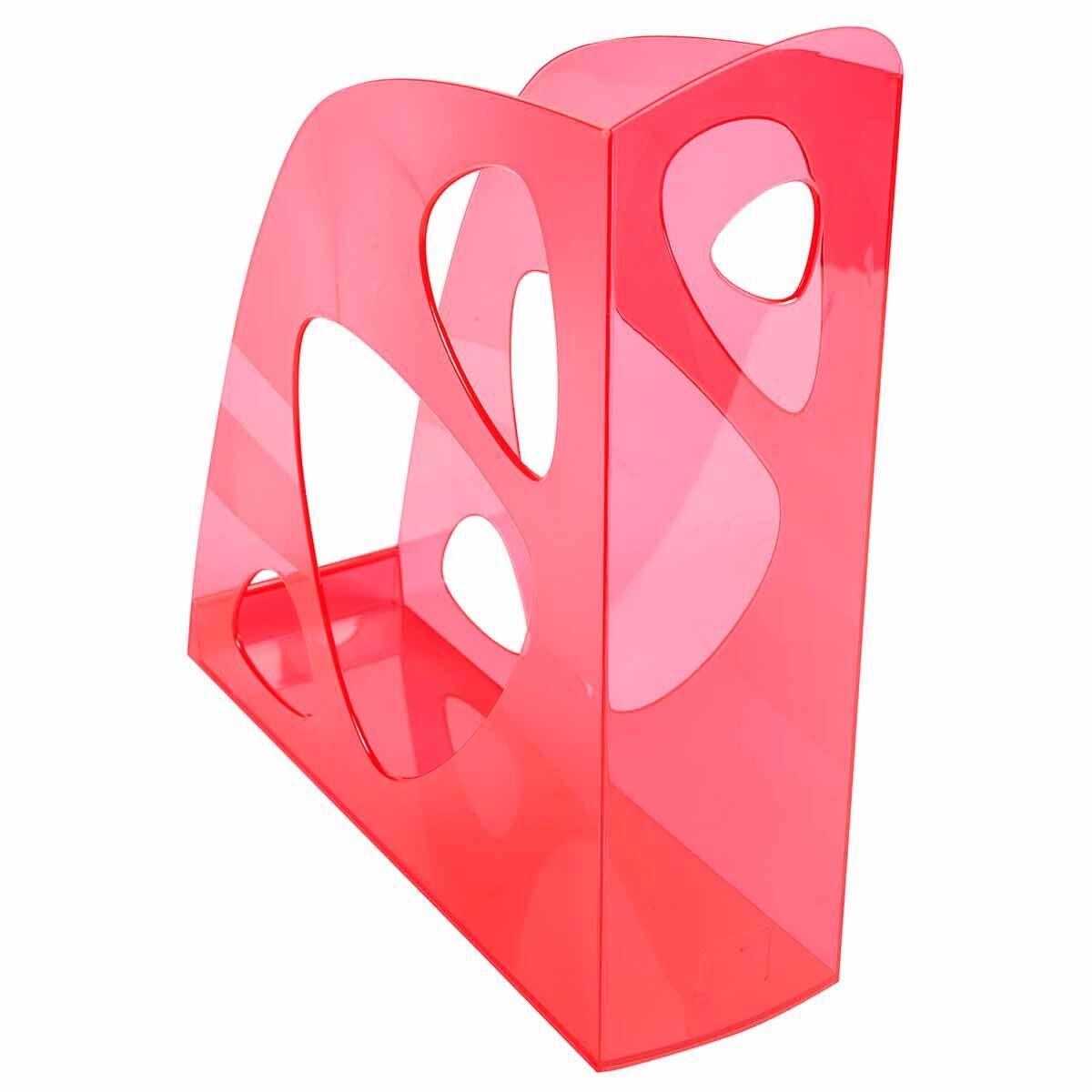 Exacompta ECOMAG Magazine File Pack of 10 Raspberry Pink