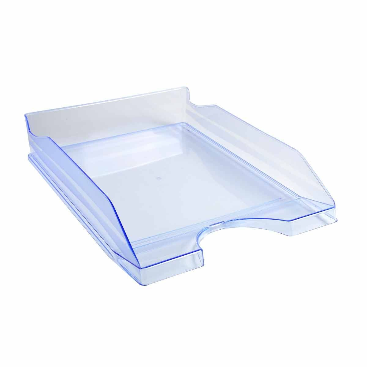 Exacompta Linicolor Eco Letter Tray Pack of 10 Ice Blue