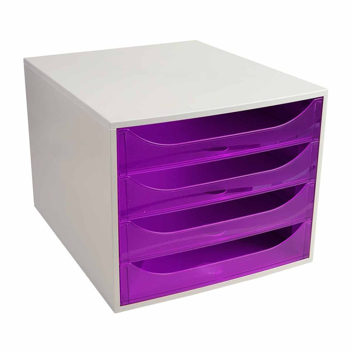 Exacompta ECO BOX 4 Drawer Unit
