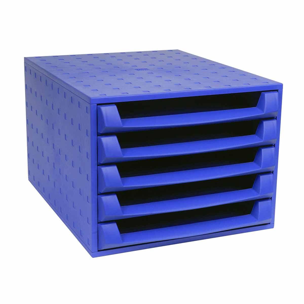 Exacompta The Box Forever 5 Drawer Unit