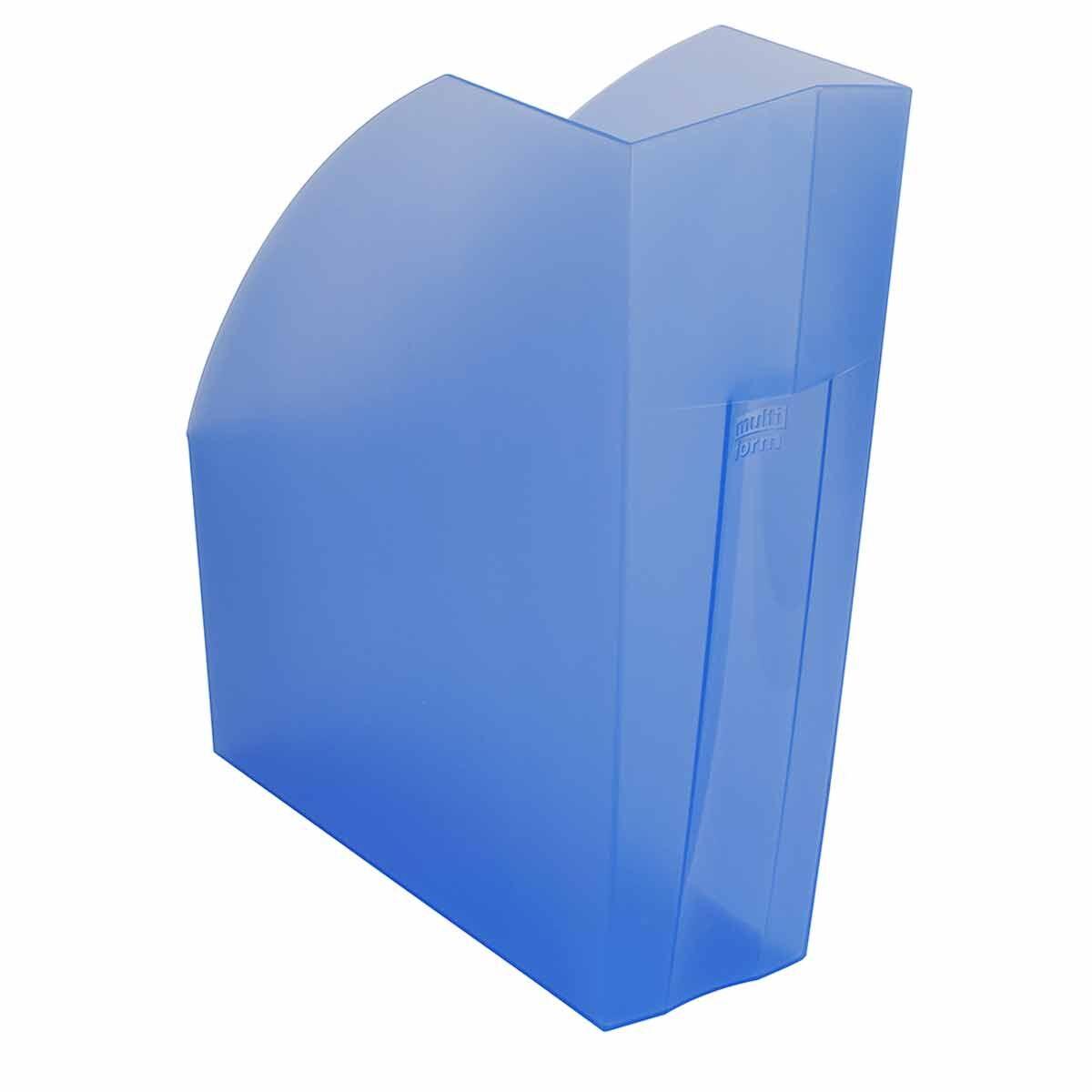 Exacompta Linicolor Magazine File Pack of 3 Ice Blue