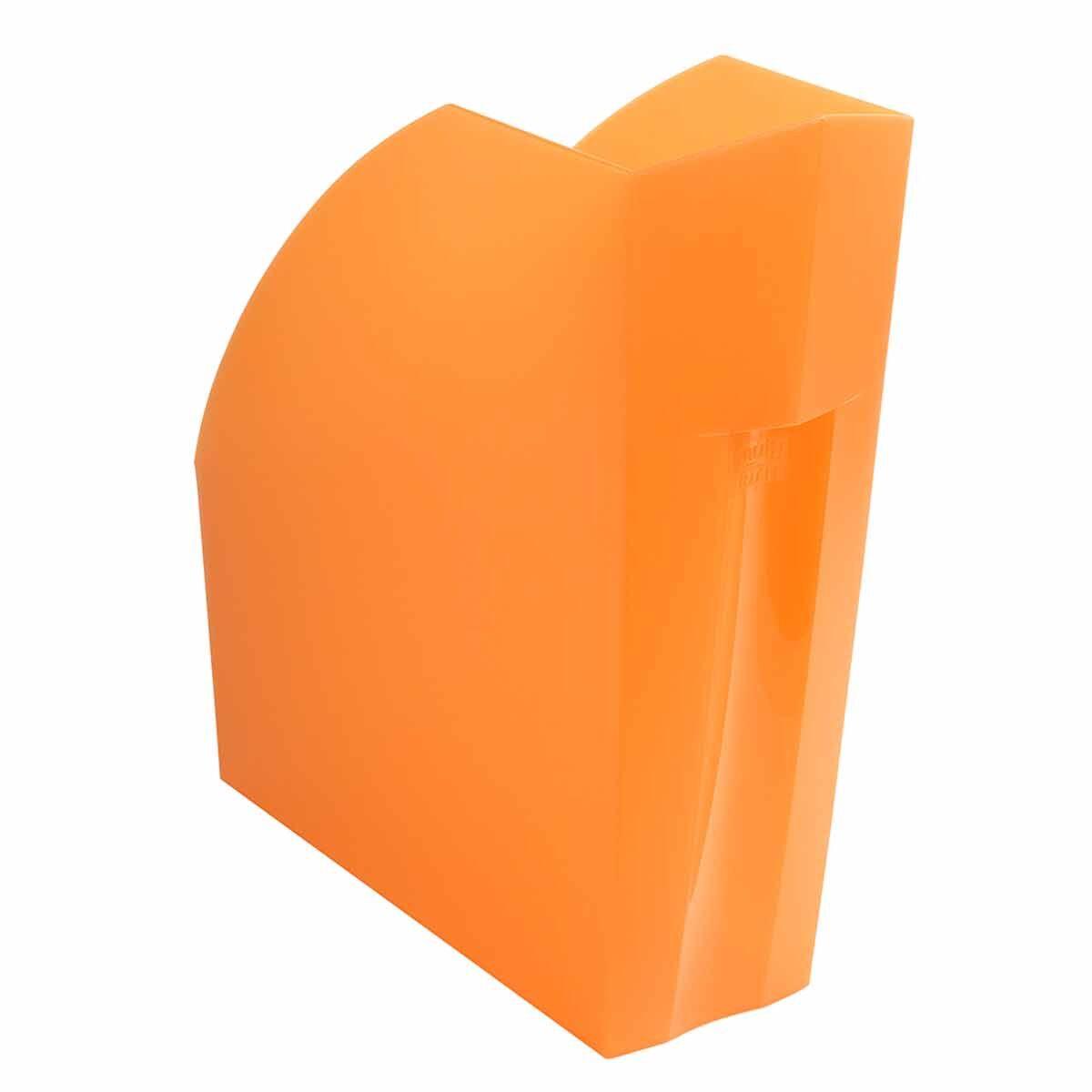 Exacompta Linicolor Magazine File Pack of 3 Orange