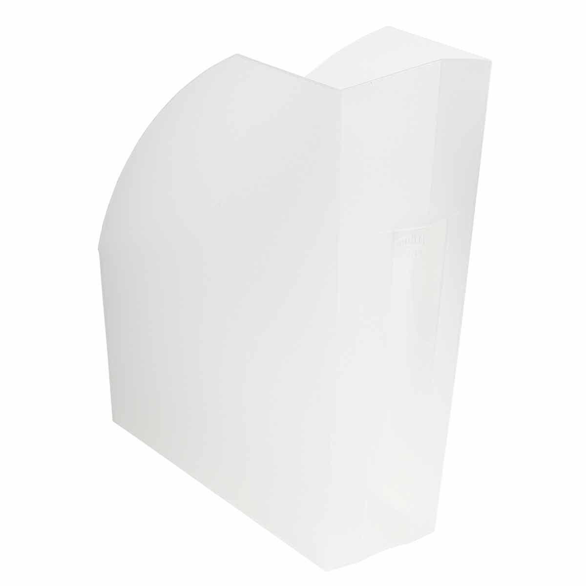 Exacompta Linicolor Magazine File Pack of 3 White