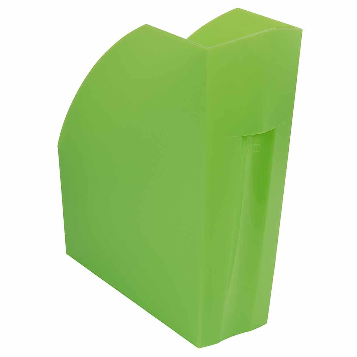 Exacompta Linicolor Magazine File Pack of 3 Apple Green