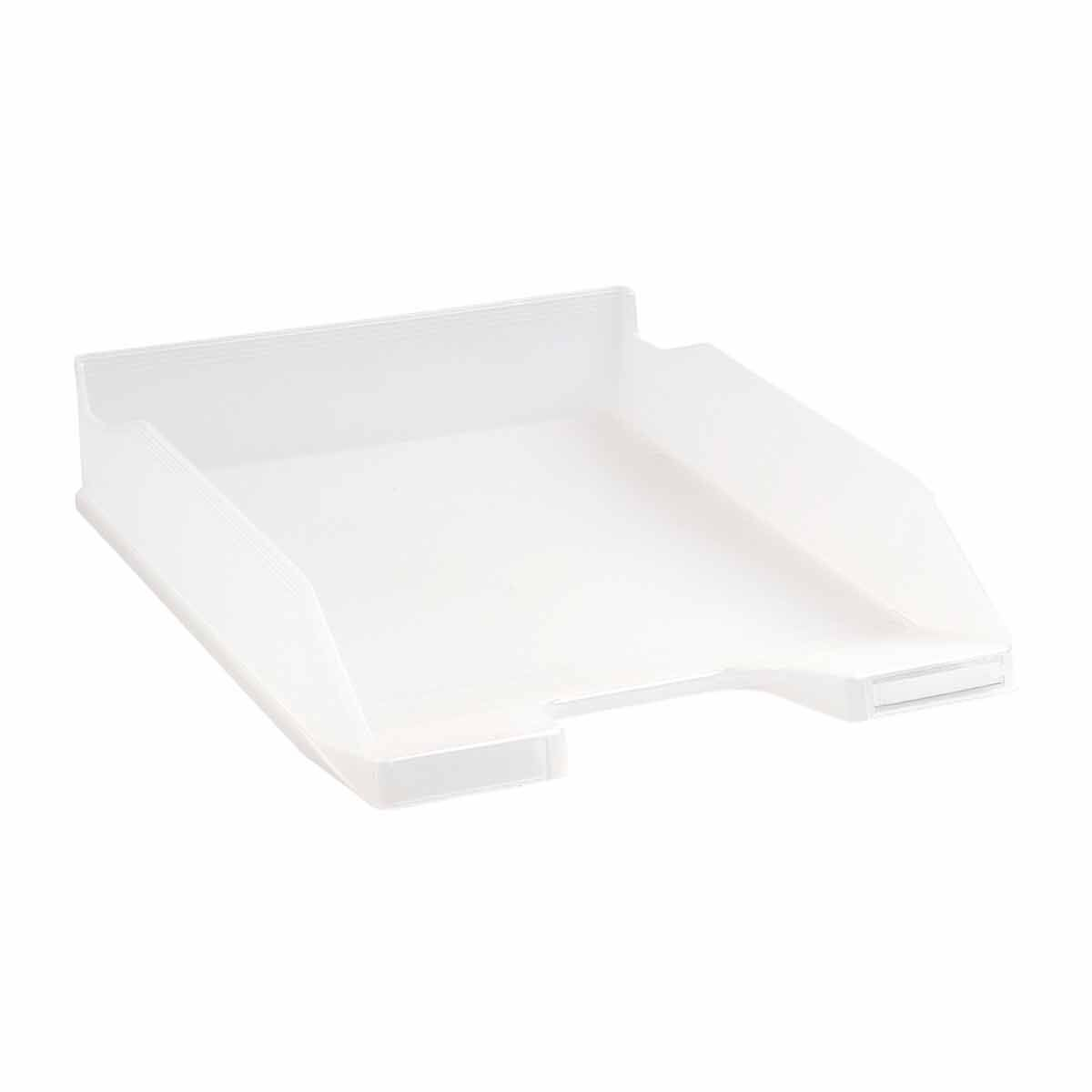Exacompta Office Letter Tray Midi Combo Pack of 6 Translucent