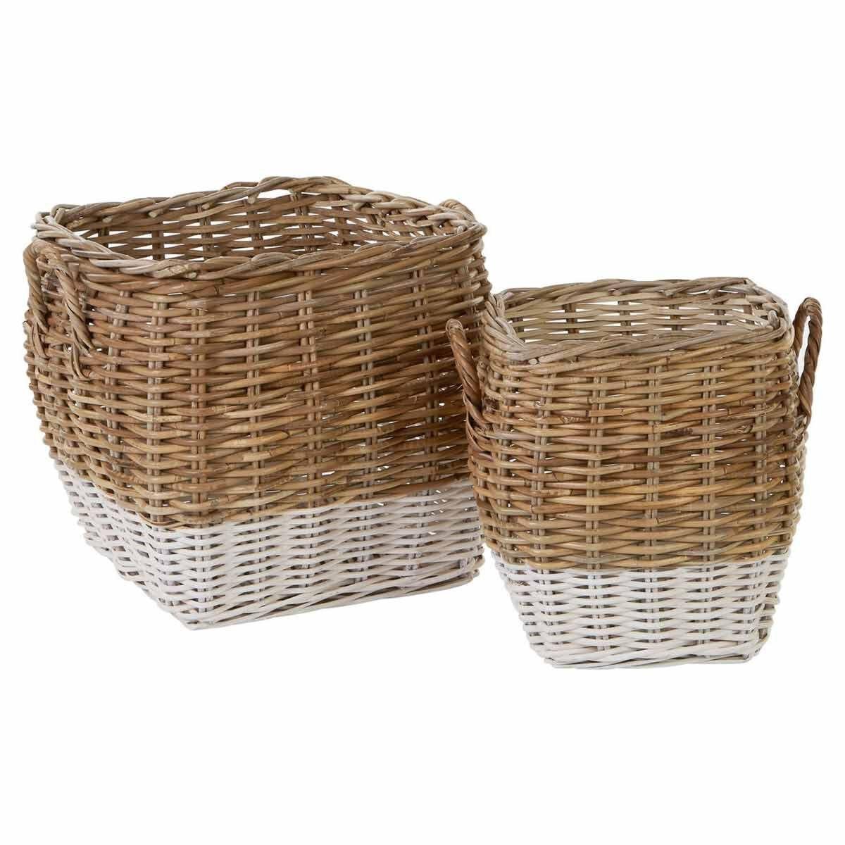 Hampstead Square Storage Baskets Set of 2