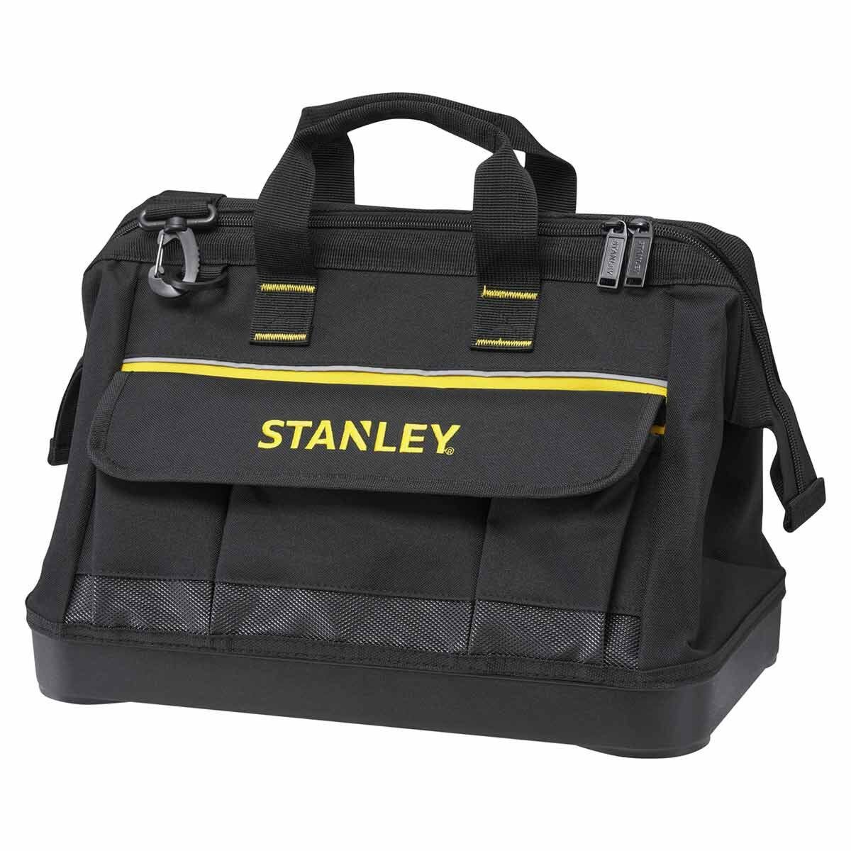 STANLEY 16 Inch Open Mouth Tool Bag