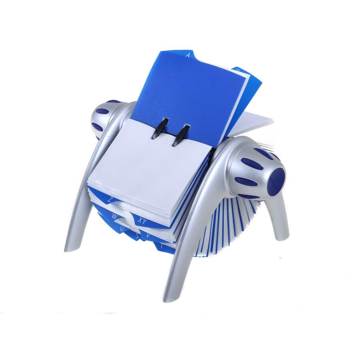 Visifix Flip Rotary File Business Card Holder
