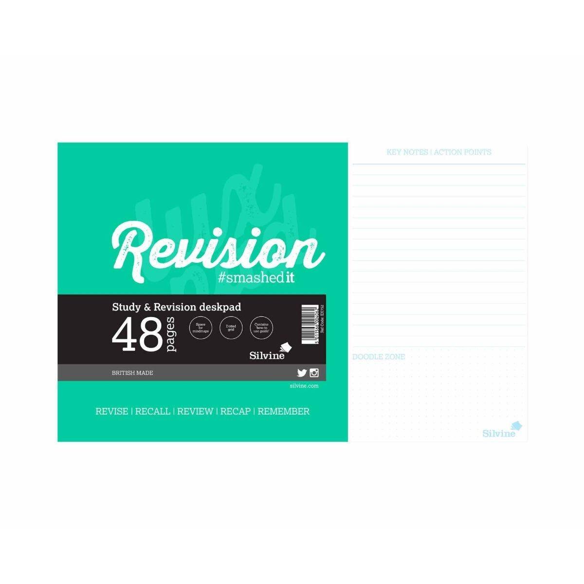 Silvine Revision Pad 48 Sheets 360x230mm