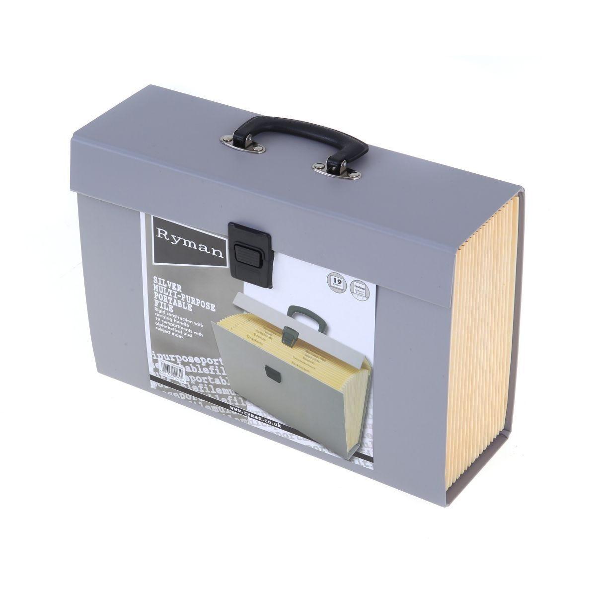 Ryman 19 Pocket Expandable File